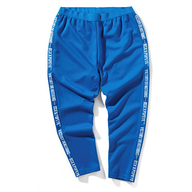 Popeye series knitted casual pants