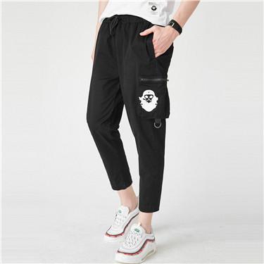 VON printed cargo pants