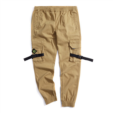 BSX multi-pocket VON patch joggers