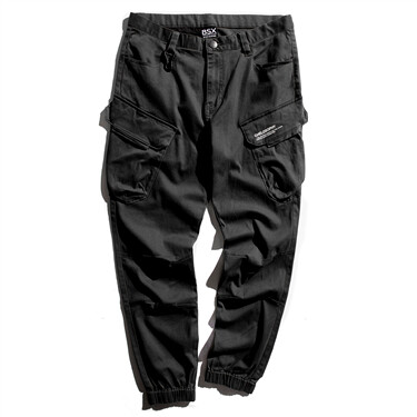 BSX multi-pocket cargo joggers