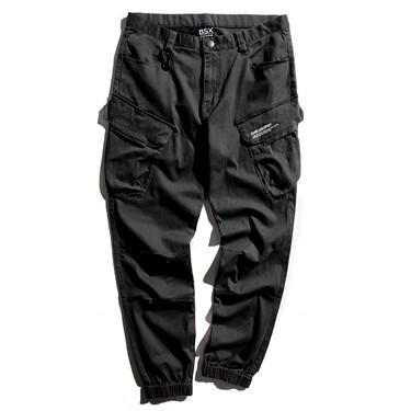 BSX多口袋束脚休闲裤