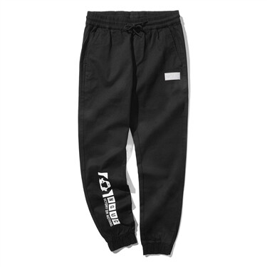 VON printed stretchy joggers