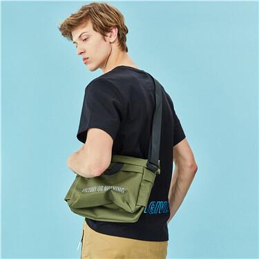 Printed crossbody bag