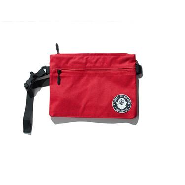 VON rubber embroidery shoulder bag