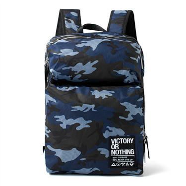 Printed VON  camouflage backpack