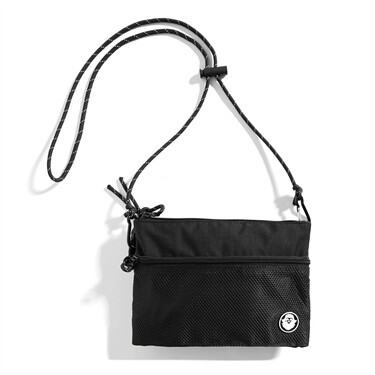 VON rubber embroidery crossbody bag