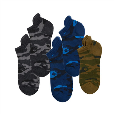 VON jacquard ankle socks (5-pairs)
