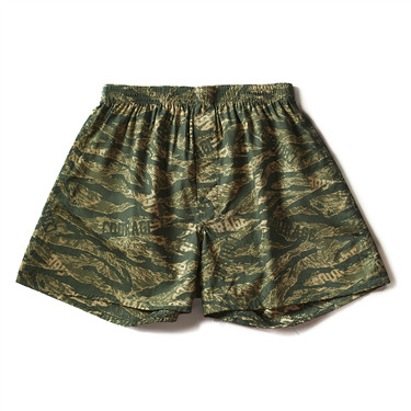 Camouflage cotton boxers