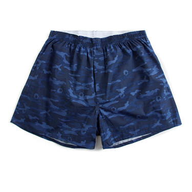 Contrast color cotton boxer brief
