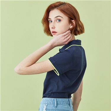 Slim Pique Polo Shirts
