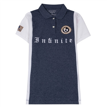 Laureate Lion Head Embroidered POLO Shirt