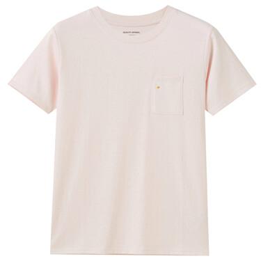 女裝素色口袋T恤