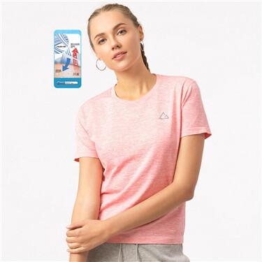 G-Motion 女裝COOLMAX印花圓領短袖T恤
