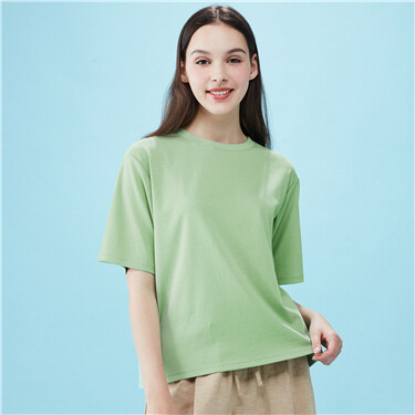 Loose short-sleeve tee