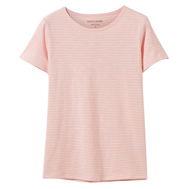 Slub cotton short-sleeve tee