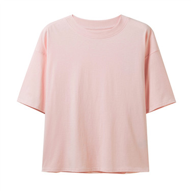 Cotton short-sleeves tee