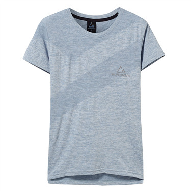 女裝G-MOTION Silvermark 無縫短袖T恤
