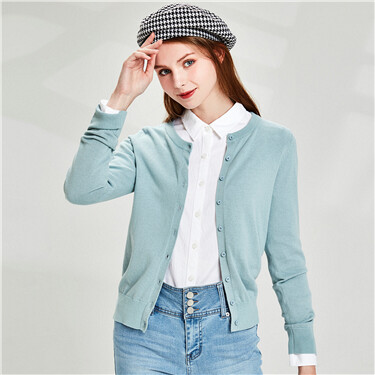 Cotton oxford long-sleeve casu