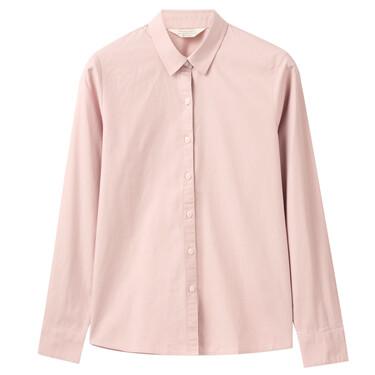 Women Woven Comfort Long Sleeve Shirt
