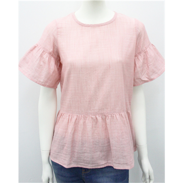 Flare Cuff Short Sleeve Shirt