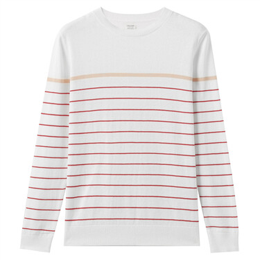 Solid crewneck knitted wear