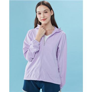 Anti-UV lightweight hooded jacket