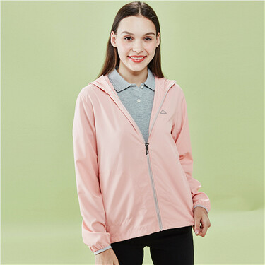 Anti-UV lightweight hooded jacket