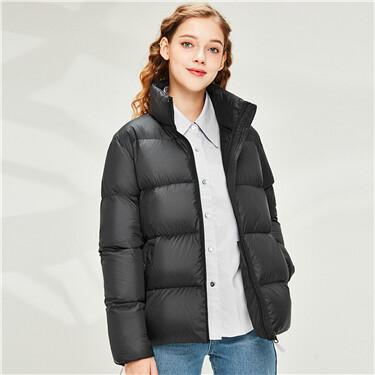 90% white goose down lightweight jacket
