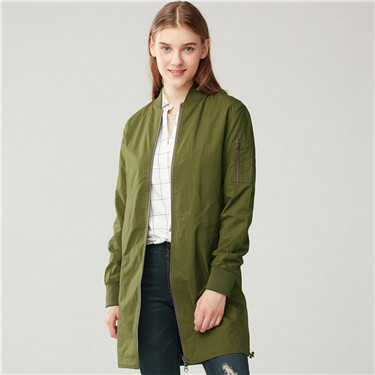 Solid bomber jacket