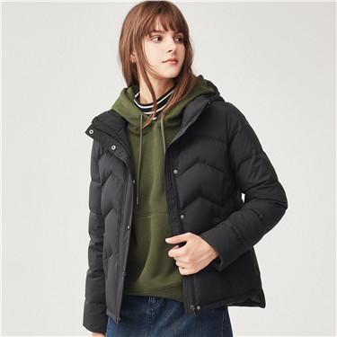 90% grey goose down detachable down jackets
