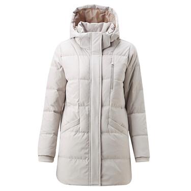 Detachable hood down jackets