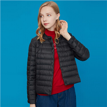 Machine washable lightweight down jacket
