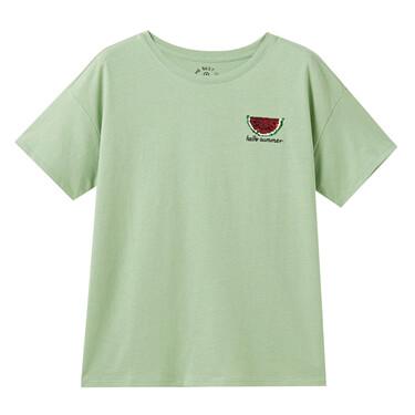 女裝短袖珠片T恤