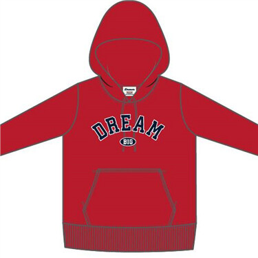 Dreamers Collection Hoodie Print Pullover