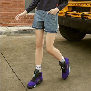 PEANUTS Denim Shorts for Women