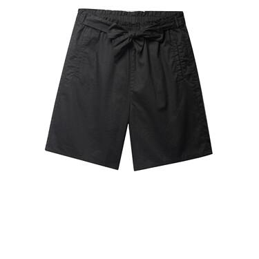 Elastic waist casual shorts