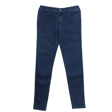 女裝舒適彈力針織修身窄管牛仔褲