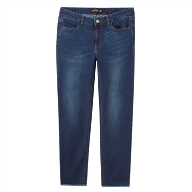Womens Stretchy Slim Mid Rise Jeans