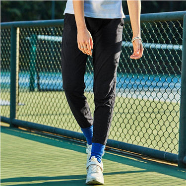 Stretchy thin jogger pants