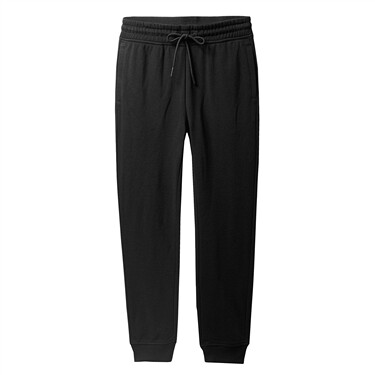 Drawstring cotton joggers