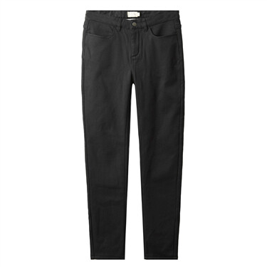 Fleece-lined stretchy slim pants