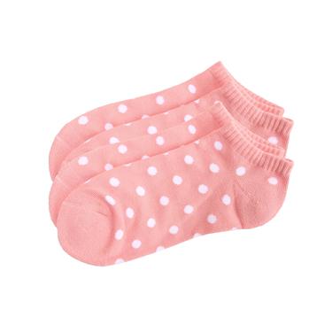 簡約配色舒適彈力短襪(兩對裝)
