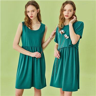 Model 2 in 1 dress