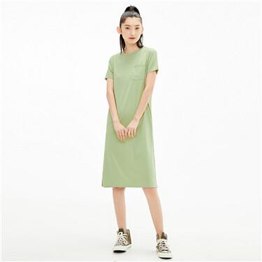 High-tech cool patch pocket dress