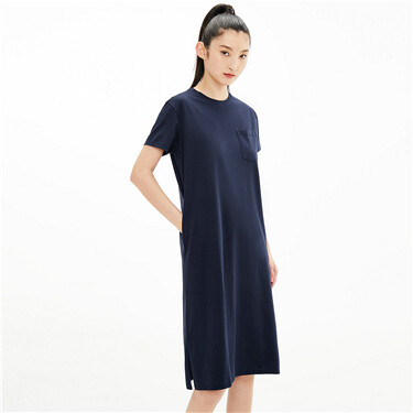 High-tech cool patch pocket dress