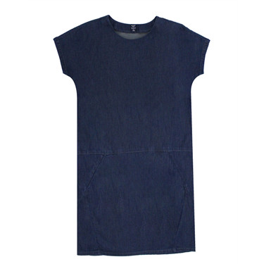 Denim loose dress
