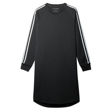 Interlock Color-blocking raglan sleeve dress