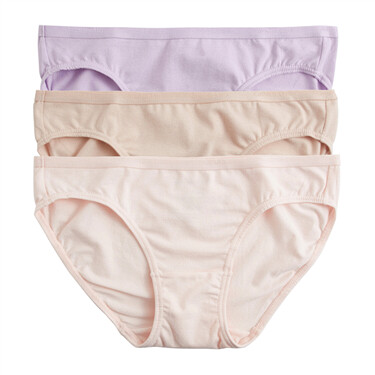 Women Elastic-waistband panties (3-packs)