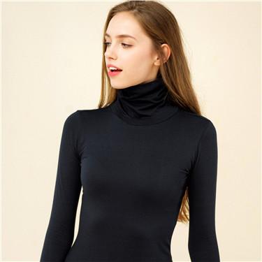女裝G-Warmer彈力舒適高領極暖衣