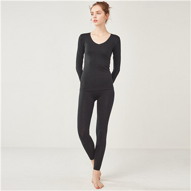 G-Warmer v-neck stretchy long johns